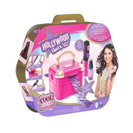 Maleta Hollywood Hair Faça Você Mesmo Mechas de Cabelo 2241