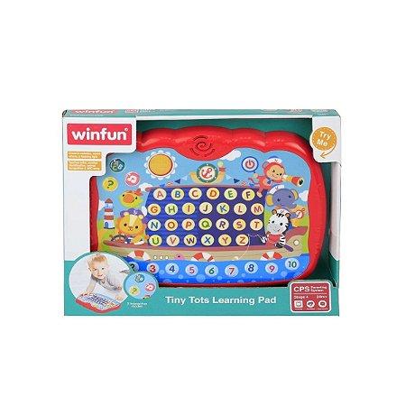 Brinquedo Tablet Dos Pequenos Bilingue WinFun 2273 B8