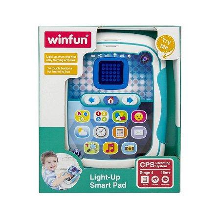 Brinquedo Tablet Inteligente Bilingue WinFun 2272 B8