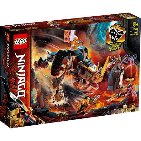 Lego Ninjago Playset Criatura Mino de Zane 616 Peças 71719