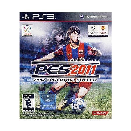 Jogo Mídia Física Pes 2011 Pro Evolution Soccer Original PS3