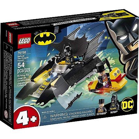 Lego Batman Playset Perseguiçao do Pinguim em Batbarco 76158