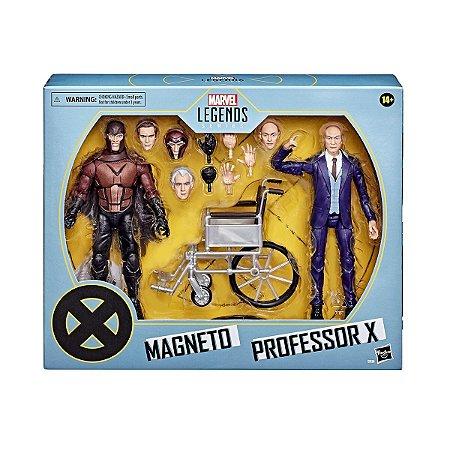 Figura Marvel Legends Series Magneto e Professor X E9290