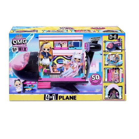 Brinquedo LOL Surprise OMG Avião Remix Candide 8962