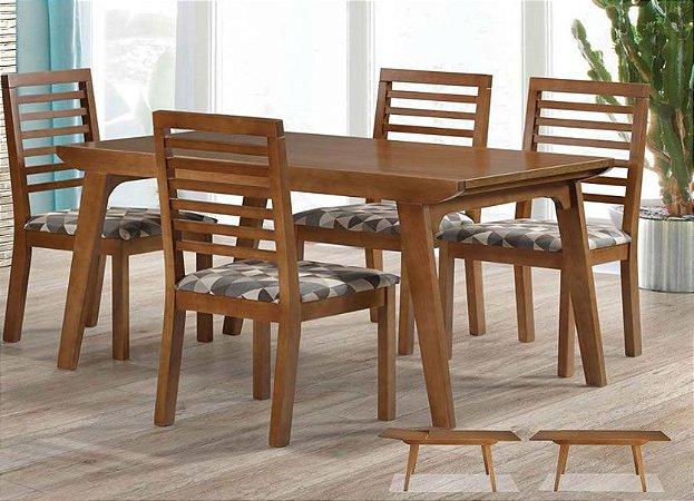 Mesa de Jantar Harmonia c/ 4 cadeiras