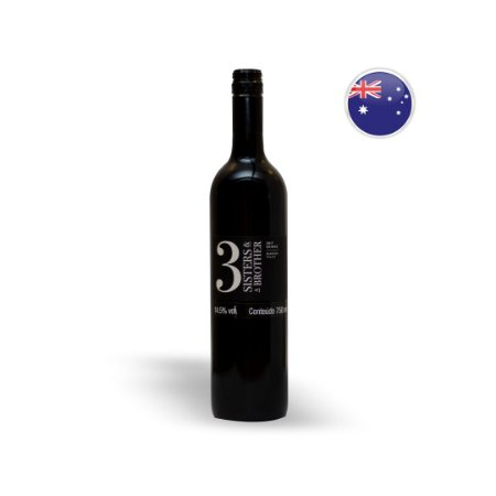 Vinho Australiano Tinto Three Sisters And a Brother Shiraz Garrafa 750ML