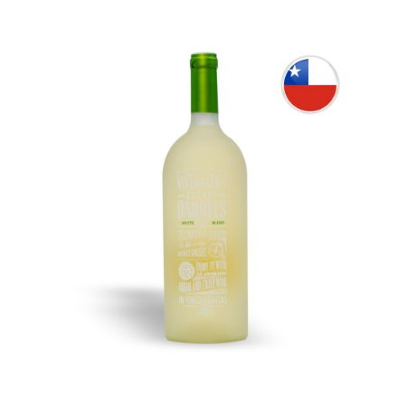 Vinho Chileno Branco The Winemaker's Secret Barrel Blend Garrafa 1L