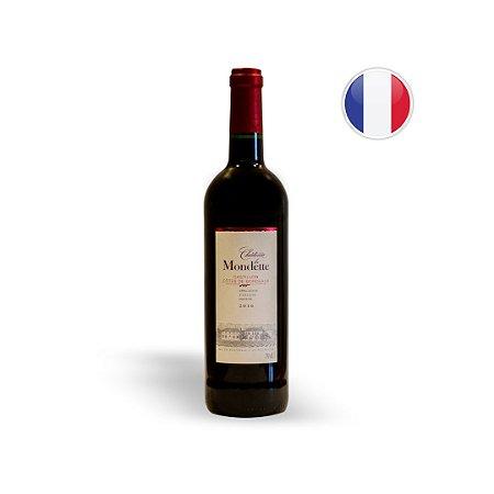 Vinho Francês Tinto Chateau La Mondette Bordeaux Garrafa 750ML
