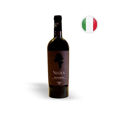 Vinho Italiano Tinto Nigra Negroamaro IGP Garrafa 750 ML