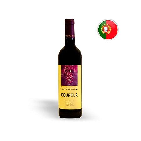 Vinho Português Tinto Courela Cortes De Cima Regional Alentejo Garrafa 750ML