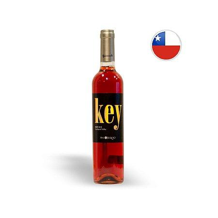 Vinho Chileno Rosé Valle Secreto Key Garrafa 750ML