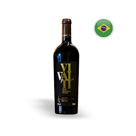 Vinho Nacional Tinto Vivalti Sangiovese Garrafa 750ML
