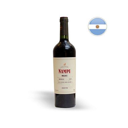 VINHO TINTO ARGENTINO LOS HAROLDOS NAMPE MALBEC 750ML