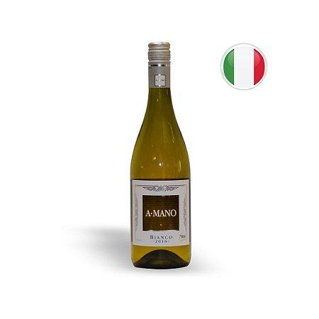 Vinho Italiano Branco A Mano Puglia IGT Garrafa 750ML