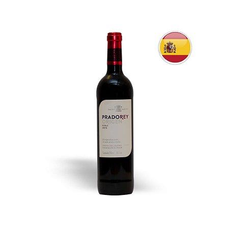 Vinho Espanhol Tinto Pradorey Origen Roble Garrafa 750ML