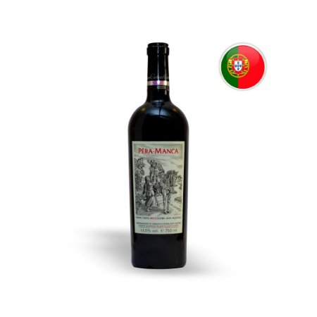 Vinho Português Tinta Pera Manca Evora DOC Alentejo Garrafa 750ML