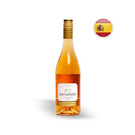 Vinho Espanhol Rosé Ontanon Clarete Viura-Tempranillo Garrafa 750ML