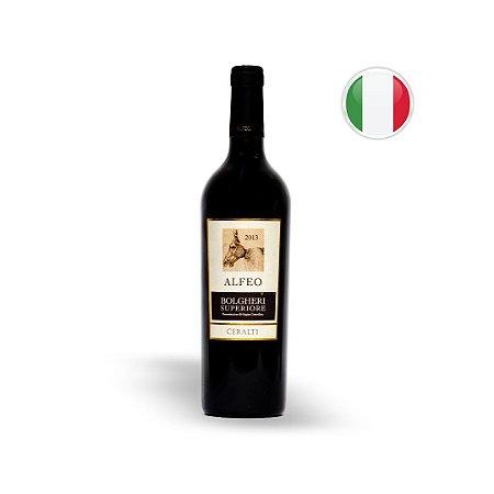 Vinho Italiano Tinto Alfeo Bolgheri Superiori Ceralti DOC Garrafa 750ML