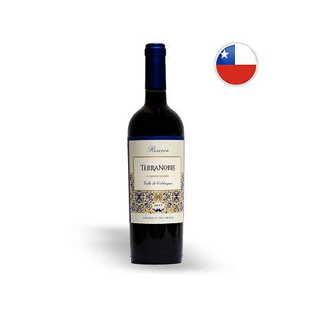 Vinho Chileno Tinto Terranoble Reserva Carmenere Garrafa 750ML