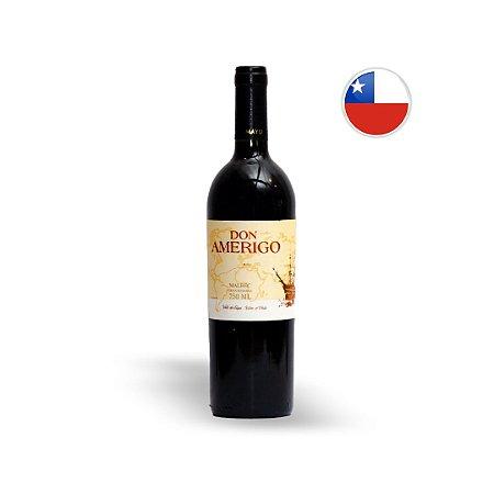 Vinho Chileno Tinto Don Amerigo Gran Reserva Malbec Garrafa 750ML