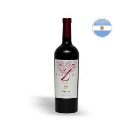 Vinho Argentino Tinto Prozan Bonarda Garrafa 750ML