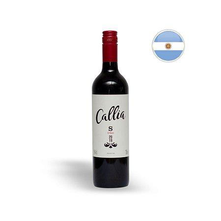 Vinho Argentino Tinto Callia Syrah Garrafa 750 ML
