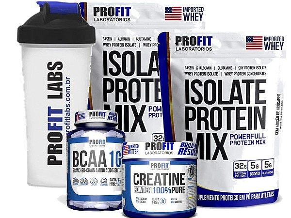 creatina whey protein e malto