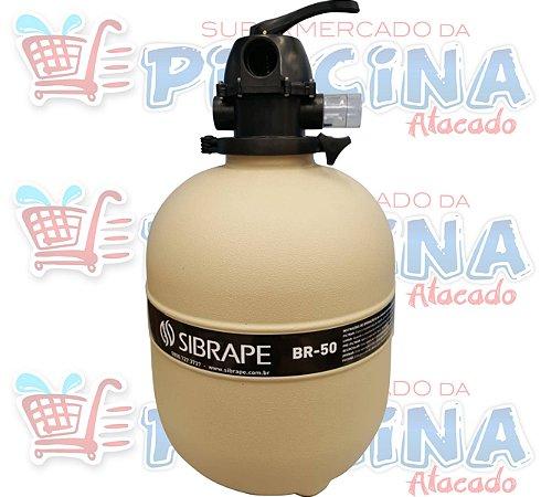 Filtro - Br-50 - Sibrape - Para Piscinas Até 70,4 m³ - Quantidade de 03 a 15