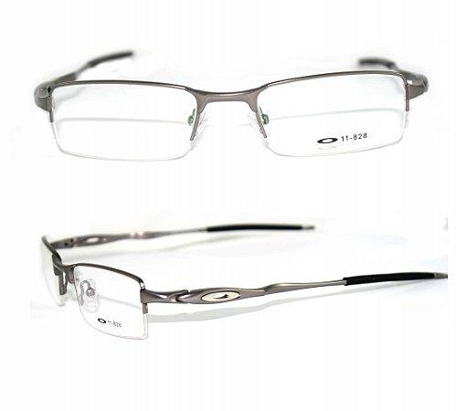 cfdd5000452 Tag  Armação De Oculos De Grau Oakley Titanium