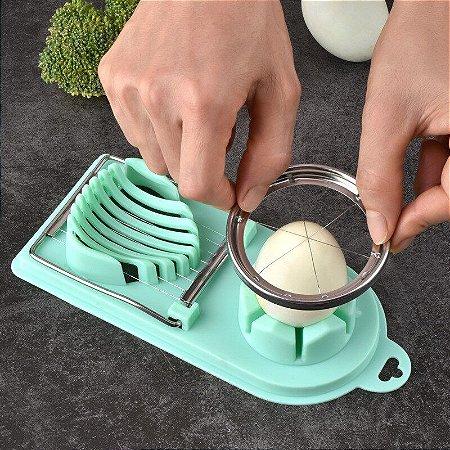 Cortador Fatiador de Ovos cozido Super prático