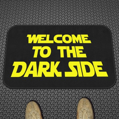 Tapete Decorativo Welcome to the Dark Side