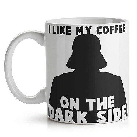 Caneca Geek Side - Dark Side Coffee