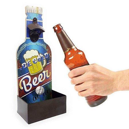 Abridor de Garrafa de Parede Ice Cold Beer