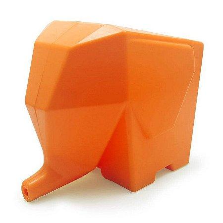 Porta Talheres e Escorredor Elefante - laranja