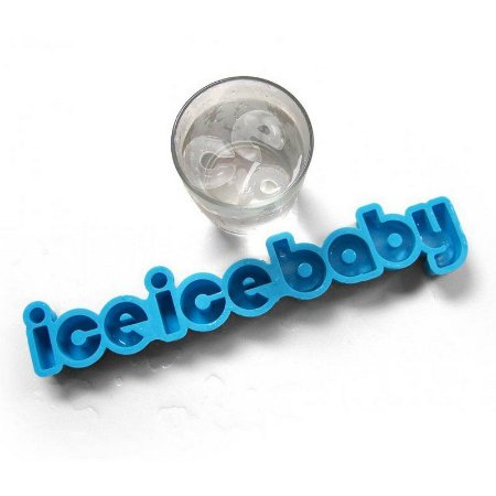 Forma de gelo Ice Ice Baby - silicone