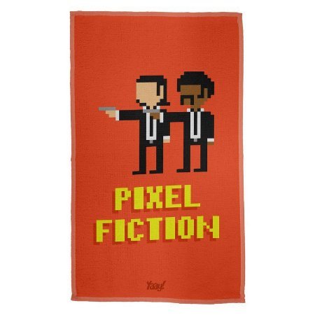 Pano Multiuso em Microfibra Pixel Fiction
