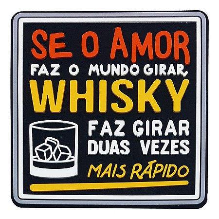 Porta Copo Amor vs Whisky