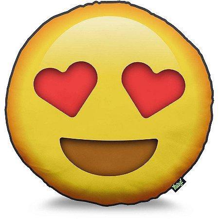 Almofada Emoticon - Emoji Amor