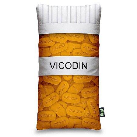 Almofada Frasco de Vicodin - pequena