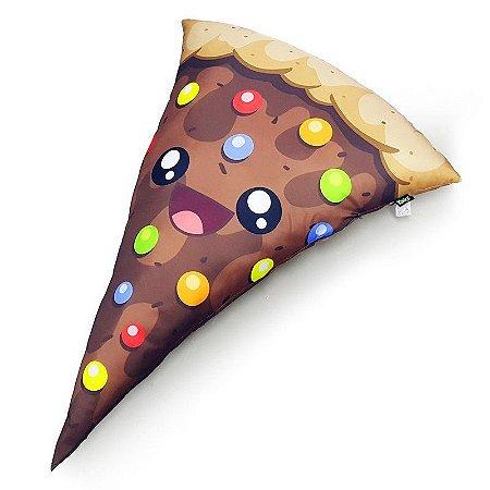 Almofada Gigante Pizza Feliz Doce