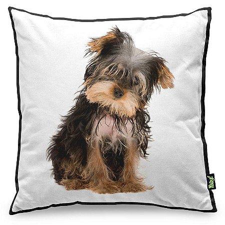 Almofada Love Dogs Black Edition - Yorkshire
