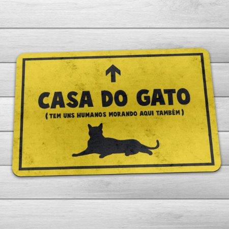 Capacho Eco 3mm Casa do Gato