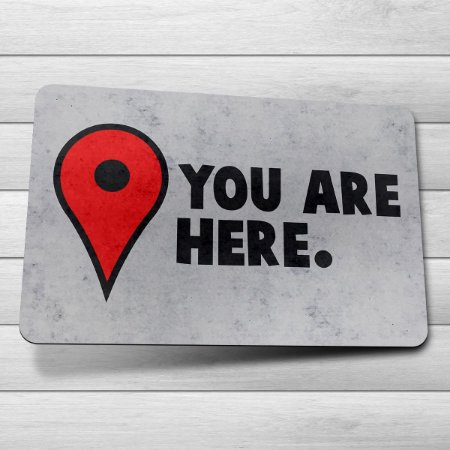 Capacho Eco 3mm You Are Here