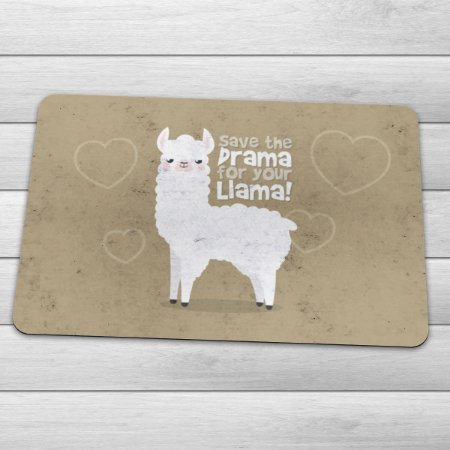 Capacho Eco Slim 3mm Save The Drama For Your Llama