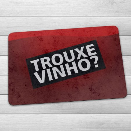 Capacho Eco Slim 3mm Trouxe Vinho