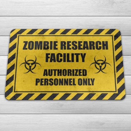 Capacho Eco Slim 3mm Zombie Research Facility