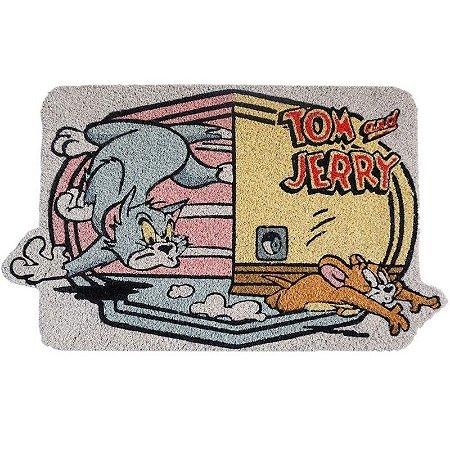 Capacho em fibra de coco Tom e Jerry