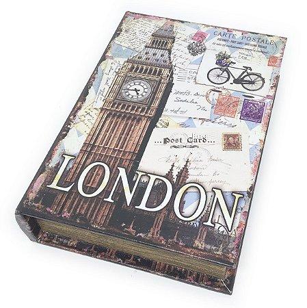 Caixa Livro Decorativa London Big Ben - 25 x 18 cm