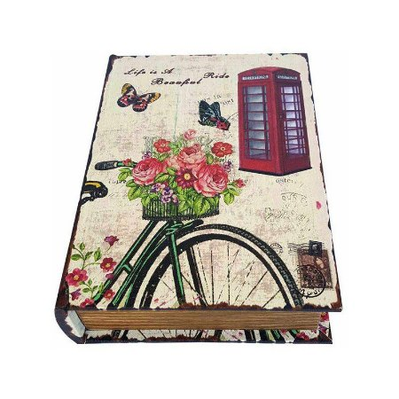 Caixinha Livro Decorativa Paris Ride Beautiful - 18 x 13 cm