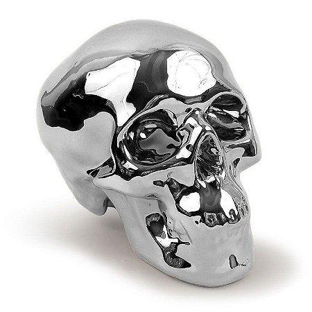 Cofre Crânio - cromado